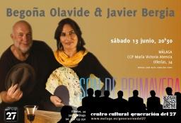 """Begoña Olavide & Javier Bergia """"De un Tiempo a esta Parte"""""""