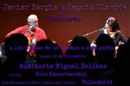 """Javier Bergia & Begoña Olavide  """" A los poetas de un tiempo a esta parte """""""
