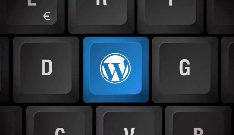teclado wordpress