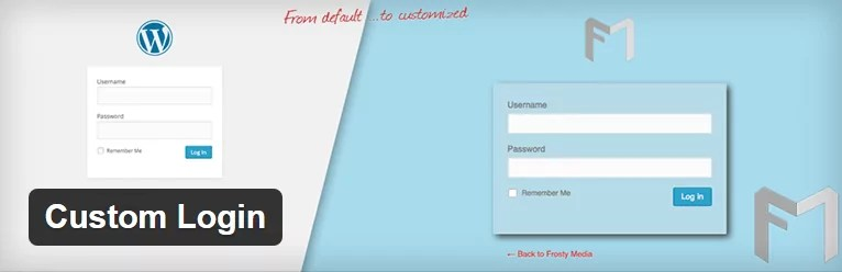 custom-login Personalizar el login de WordPress