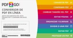 Páginas web útiles Editor PDF