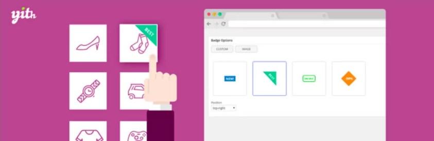 mejorar tu tienda online - YITH WooCommerce Badge