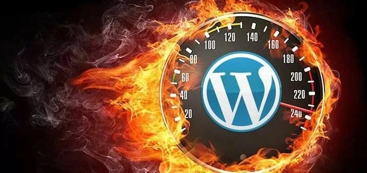 mejorar la velocidad de wordpress