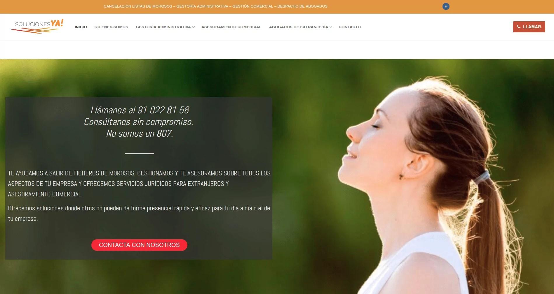 Diseño web para gestoría