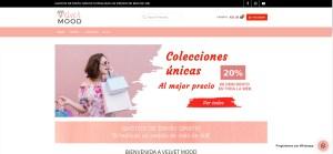 Diseño tienda de ropa online