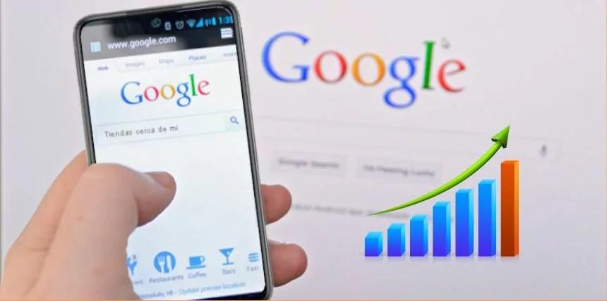 5 pasos salir el primero en Google 2