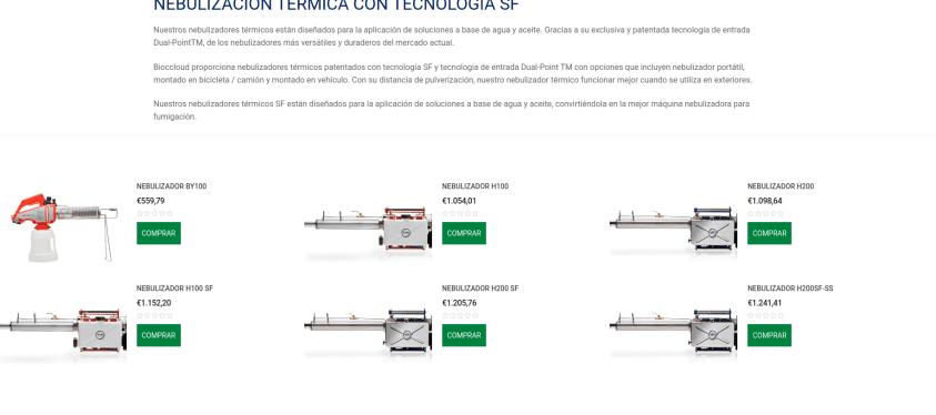Diseño tienda online en Pamplona - Navarra 2 Bioccloud