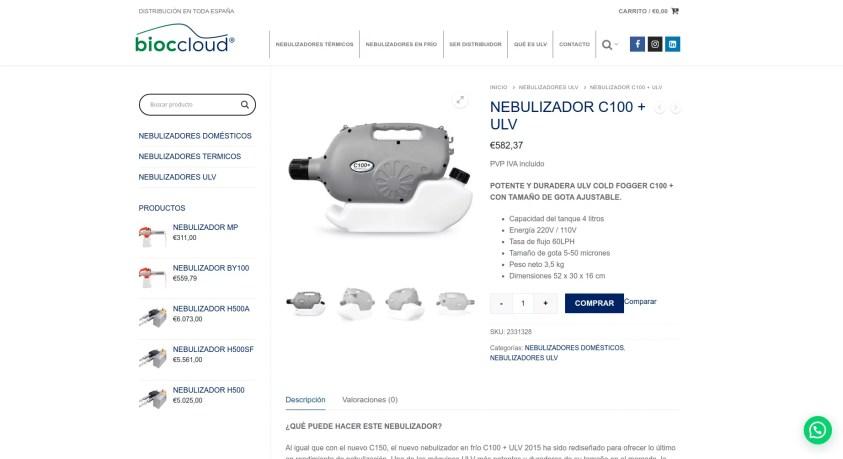 Diseño tienda online en Pamplona - Navarra 4 Bioccloud
