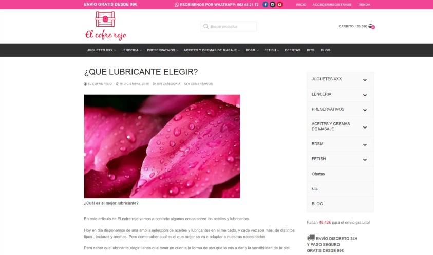 Diseño de tienda online en Madrid blog