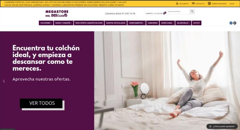 Diseño de tienda online en Fuenlabrada portada