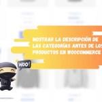 Añadir categorías en WooCommerce