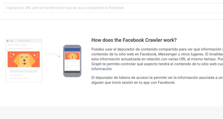 Borrar la caché de una imagen en Facebook