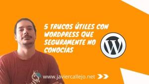 5 trucos WordPress