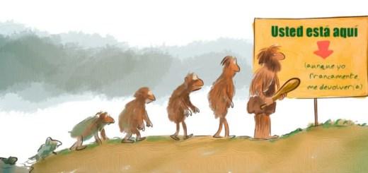 la teoría de la evolución de Darwin