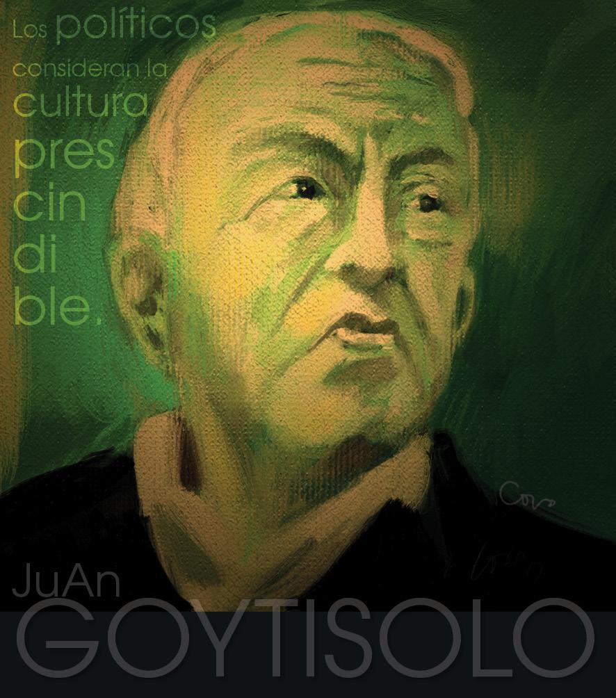 Juan Goytisolo, nacido en Barcelona