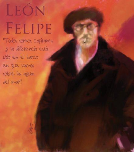 León Felipe poeta español