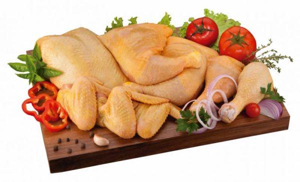 Pollo real amarillo o Pollo de Corral