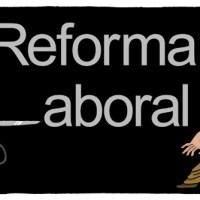 Reforma laboral 2012: humor gráfico.