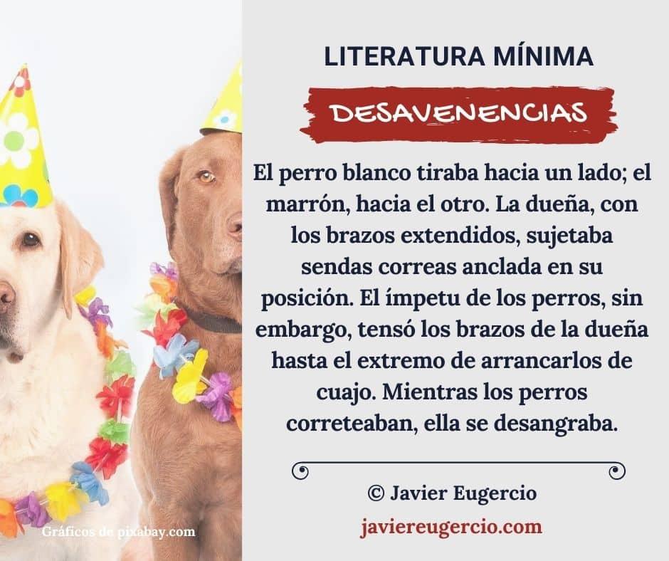 Microrrelato ilustrado de Javier Eugercio: Desavenencias