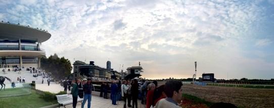 Panorámica del Hipódromo de Palermo