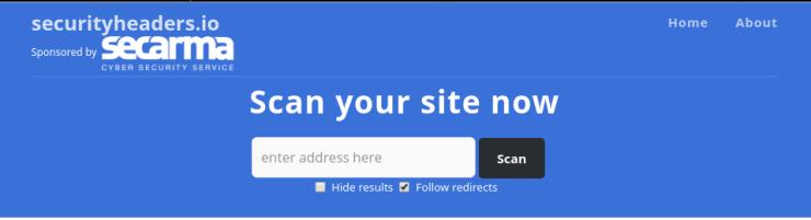 Cabeceras HTTP WordPress, escaneo