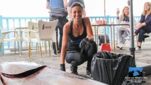 """""""Ronqueo"""" de Atún Rojo en el Bar Charco Azul 2017 · La Palma · Islas Canarias"""