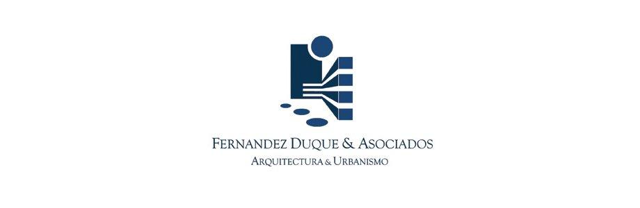 Logotipo · Fernández Duque y Asociados · Estudio de Arquitectura y Urbanismo