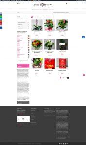 Diseño Web Tienda Online Floristería Los Santos Niños · Javier Sebastian · Diseñador Gráfico y Web · La Palma · Isla Canarias