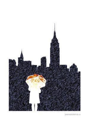 Entre Queens y Brooklyn · Sandra Lorenzo · Ilustrado por Javier Sebastián