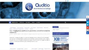 Web Auditio · Revista Electrónica de Audiología