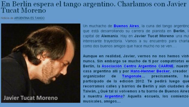 En Berlín espera el tango argentino.
