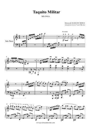 Taquito Militar - Piano Tango - Javier Tucat Moreno