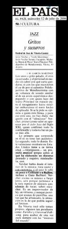Critica Prensa Scaneada VERCHER El Pais