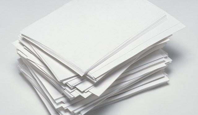 paquete de folios