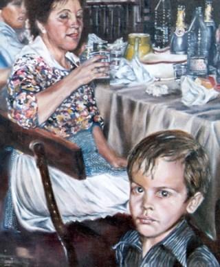 """""""Recuerdo"""",óleo/lienzo, 46x38 cm"""