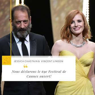 jessica chastain e Vincent Lindon
