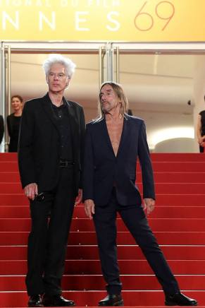 Jim Jarmusch & Iggy Pop