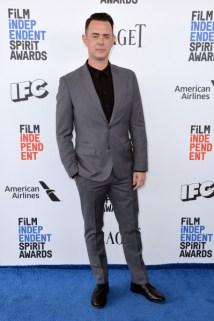 Mandatory Credit: Photo by Stewart Cook/REX/Shutterstock (8434848ah) Colin Hanks 32nd Film Independent Spirit Awards, Arrivals, Santa Monica, Los Angeles, USA - 25 Feb 2017