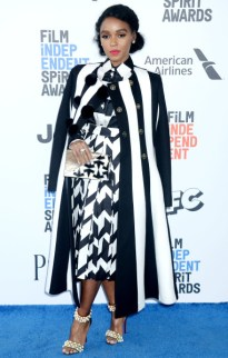 Mandatory Credit: Photo by Broadimage/REX/Shutterstock (8435535bg) Janelle Monae 32nd Film Independent Spirit Awards, Arrivals, Santa Monica, Los Angeles, USA - 25 Feb 2017 2017 Film Independent Spirit Awards