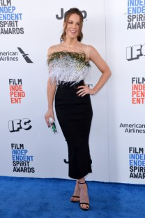 Mandatory Credit: Photo by Stewart Cook/REX/Shutterstock (8434848at) Kate Beckinsale 32nd Film Independent Spirit Awards, Arrivals, Santa Monica, Los Angeles, USA - 25 Feb 2017