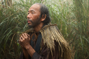 Shinya Tsukamoto plays Mokichi in the film SILENCE by Paramount Pictures, SharpSword Films, and AI Films by Paramount Pictures, SharpSword Films, and AI Films