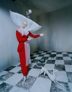 Dress and Apron Studio FBG. Headpiece Spencer Horne