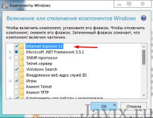 как удалить Internet Explorer в windows 7 полностью