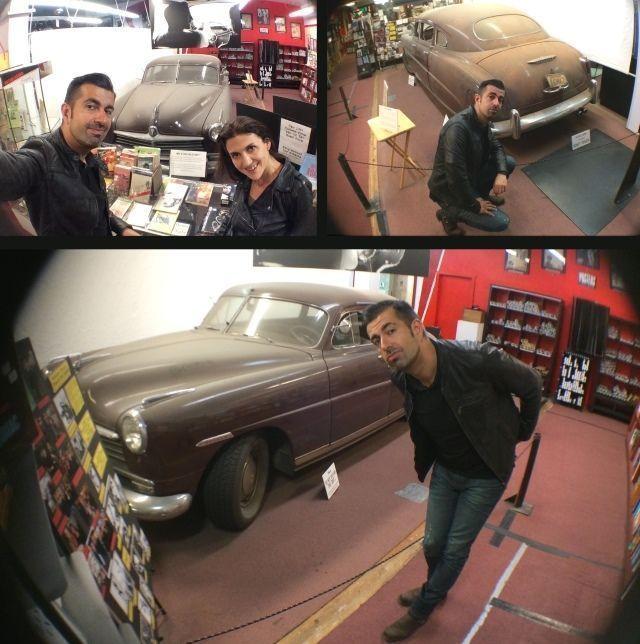 """Visitando el """"Museo Beat"""" y el coche de """"En La Carretera"""" (""""On The Road"""", 2012)"""