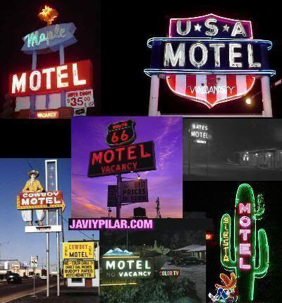 Moteles a lo largo y ancho de Estados Unidos