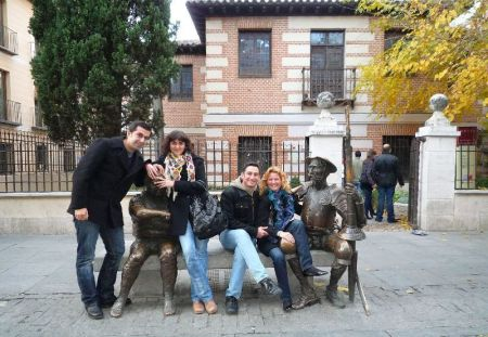 En la casa de Cervantes
