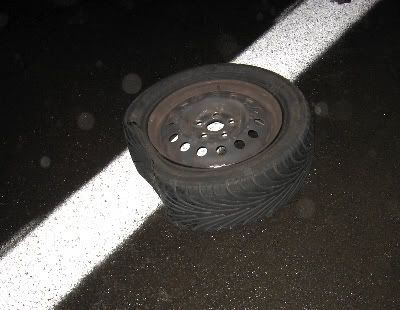 Así quedó la rueda