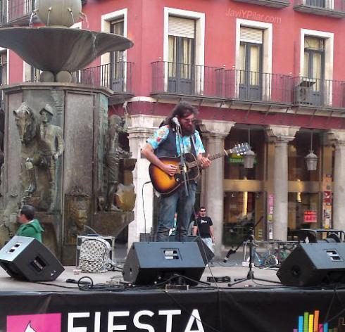 El Meister en concierto en el Día de la Música (Valladolid, 21 de junio de 2010)
