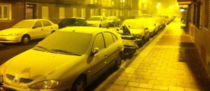 Cencellada blanca en nuestro barrio