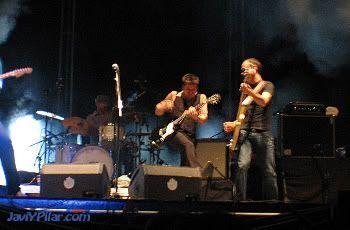 """LOS RONALDOS, más rockeros que en su última etapa antes de la separación. """"Músicos en la Naturaleza"""". Gredos, 30 de junio de 2007"""